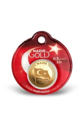 Nadir Gold 1 Adet 0.50 Gr 22 Ayar Altın