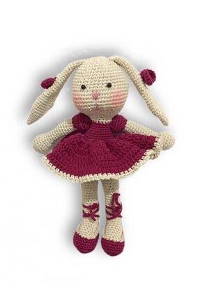 İlmek Bebek Amigurumi El Örgüsü Oyuncak Tavşan Ciciş