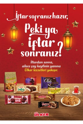 Ülker Iftar Sonrası Bisküvi & Çikolata Paketi