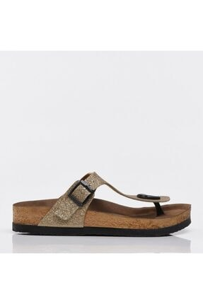 Hotiç Gold Yaya Kadın Sandalet & Terlik