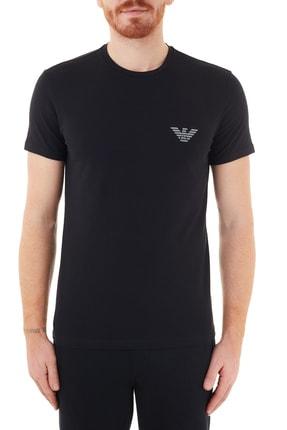 Emporio Armani Pamuklu Bisiklet Yaka Erkek T Shirt U 110853 0a524 00020
