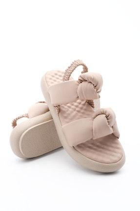 Marjin Kadın Dolgu Topuk Sandale