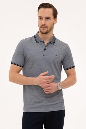 Pierre Cardin Koyu Lacivert Slim Fit Polo Yaka T-Shirt