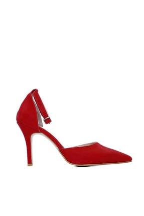 KEMAL TANCA Kadın Kırmızı Vegan Abiye Ayakkabı 792 2180