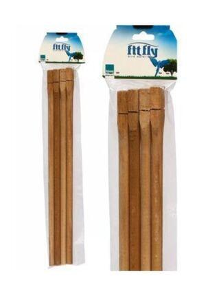 Liya Fit Fly Tahta Tünek 4'li 40cm