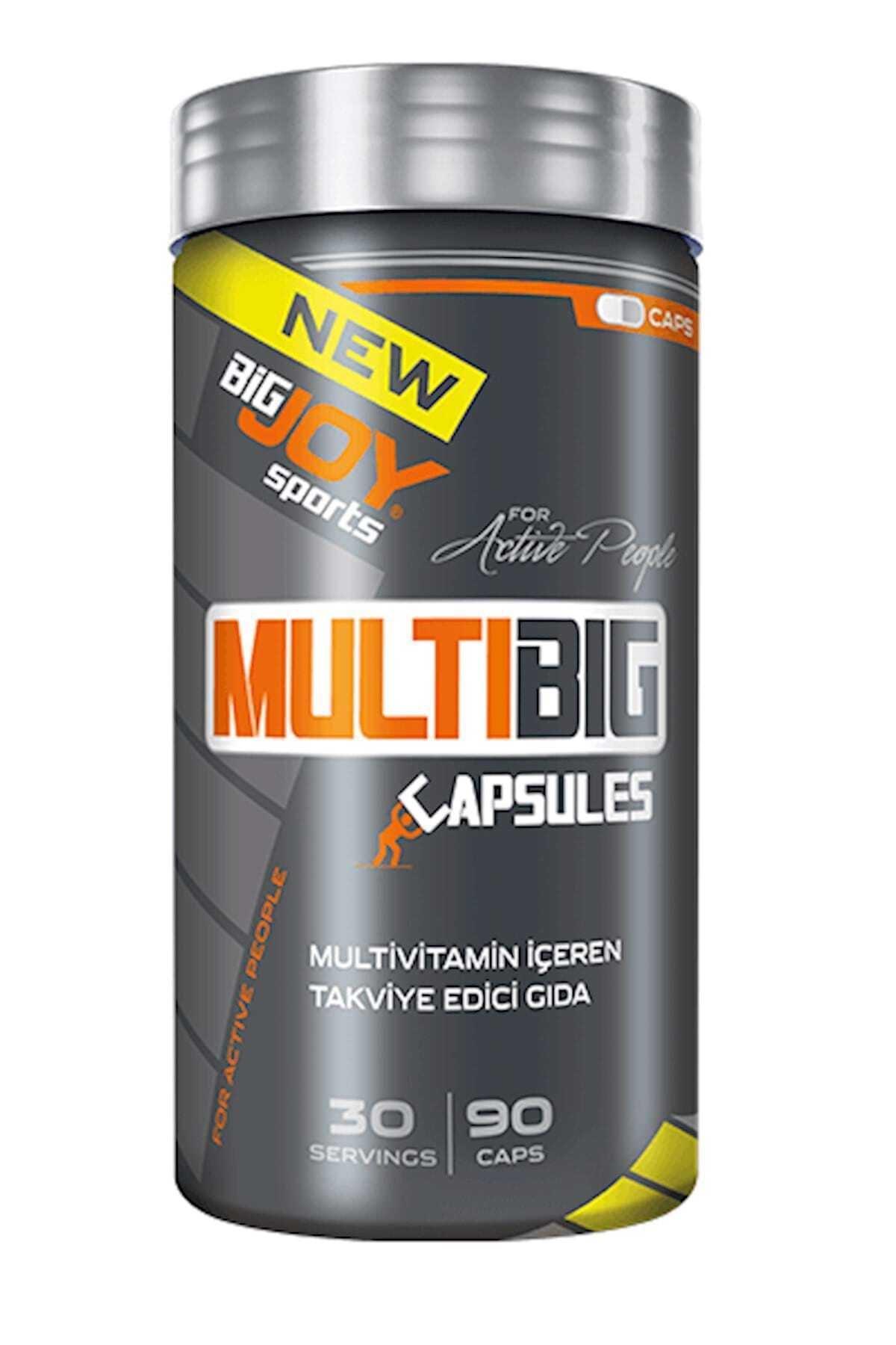 Big Joy Sports Multibig Multivitamin Vitamin Enerji Takviye Edici Gıda 90 Kapsül 1