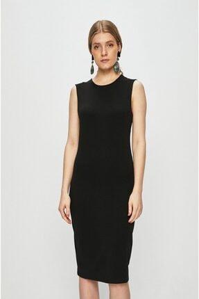 Only Kadın Siyah Kolsuz Uzun Elbise