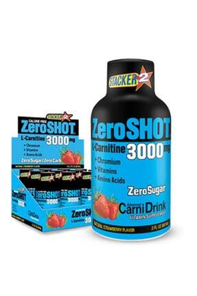 Zero Shot L-carnitine Yağ Yakıcı Termojenik Amino Asit Çilek Aroma 60ml