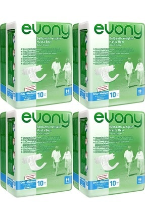 Evony Hasta Bezi Bel Bantlı Ekonomik Pk Orta-medium 40 Adet