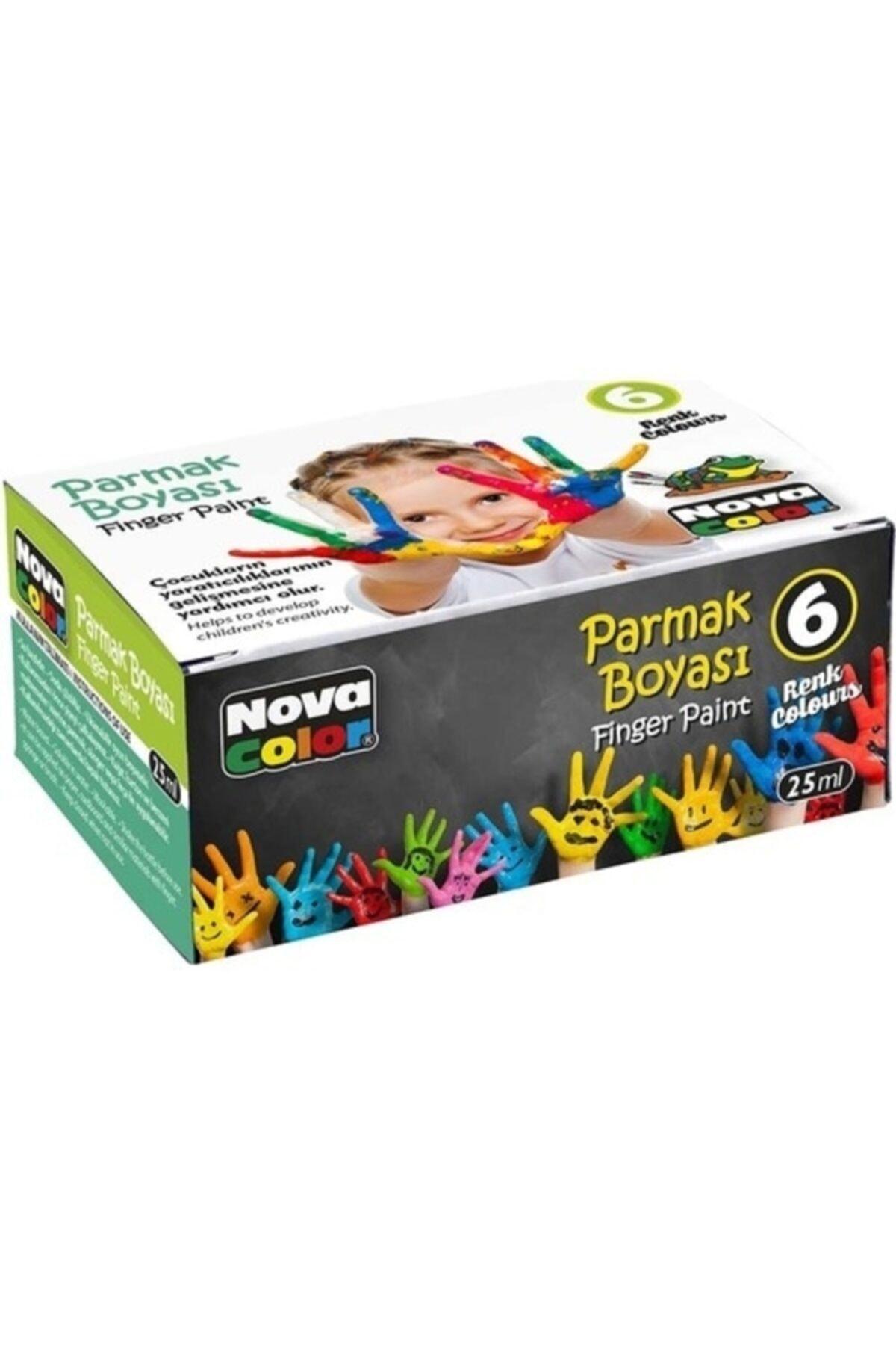 Nova Color Parmak Boyası 6 Renk 25 Ml (nc-138) 1