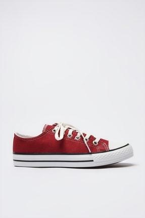 TRENDYOLMİLLA Bordo Kadın Sneaker TAKSS21SN0008