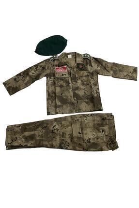 DEHAMODA Çocuk Polis Özel Harekat Kıyafeti Asker Kostümü