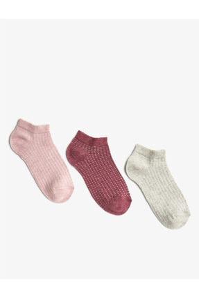 Koton Kadin Basic Çorap Seti Pamuklu 3'lü
