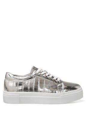 Nine West ANDY 1FX Gümüş Kadın Havuz Taban Sneaker 101011888