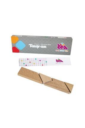 Zetzeka T-tangram Ahşap Zeka Oyunu (4 Parça 100 Farklı Şekil) 5 Yaş Ve Üzeri