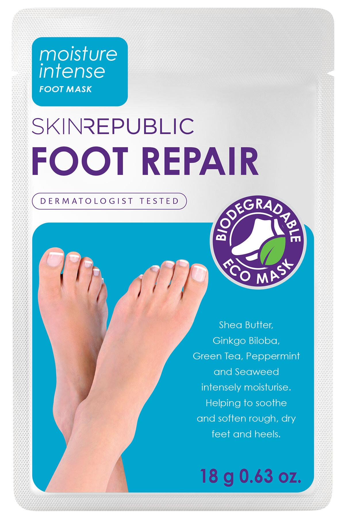 Skin Republic Foot Repair Mask 18 gr 1