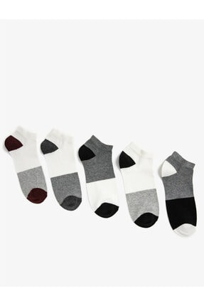 Koton Erkek Renk Bloklu Çorap Seti Pamuklu