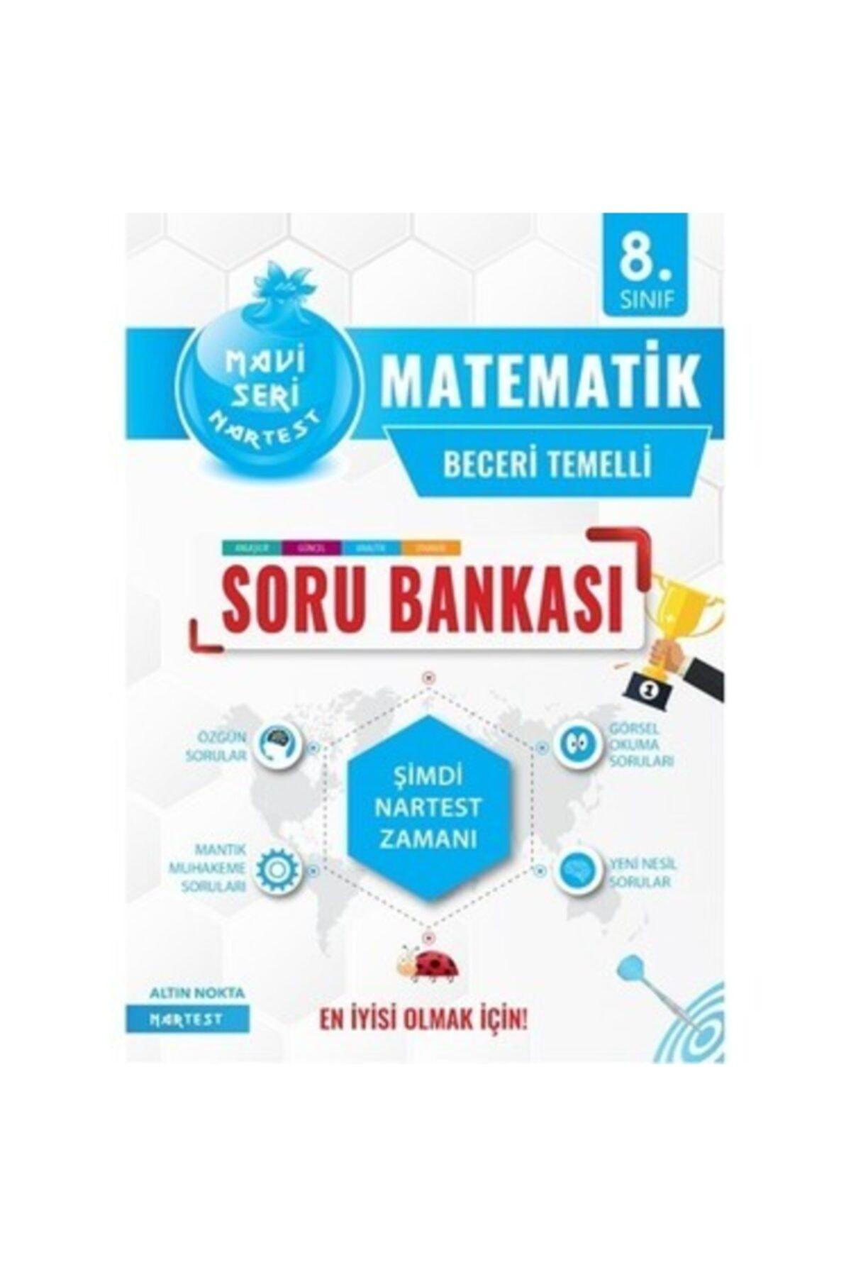 Artemis Yayınları 8. Sınıf Matematik Mavi Soru Bankası Nartest Yayınları 1