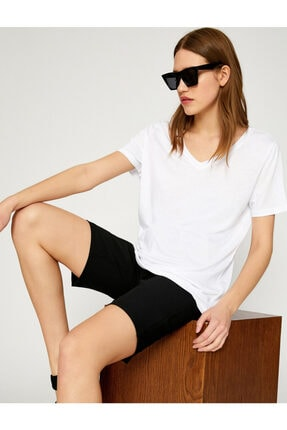 Koton V Yaka  T-Shirt