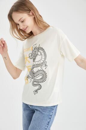 DeFacto Baskılı Tişört