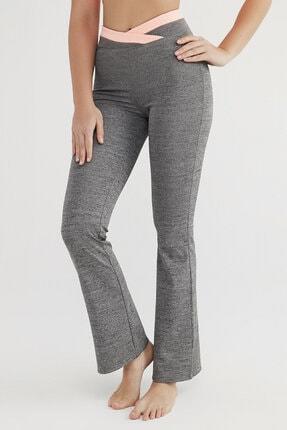 Penti Kadın Antrasit Flare Pantolon