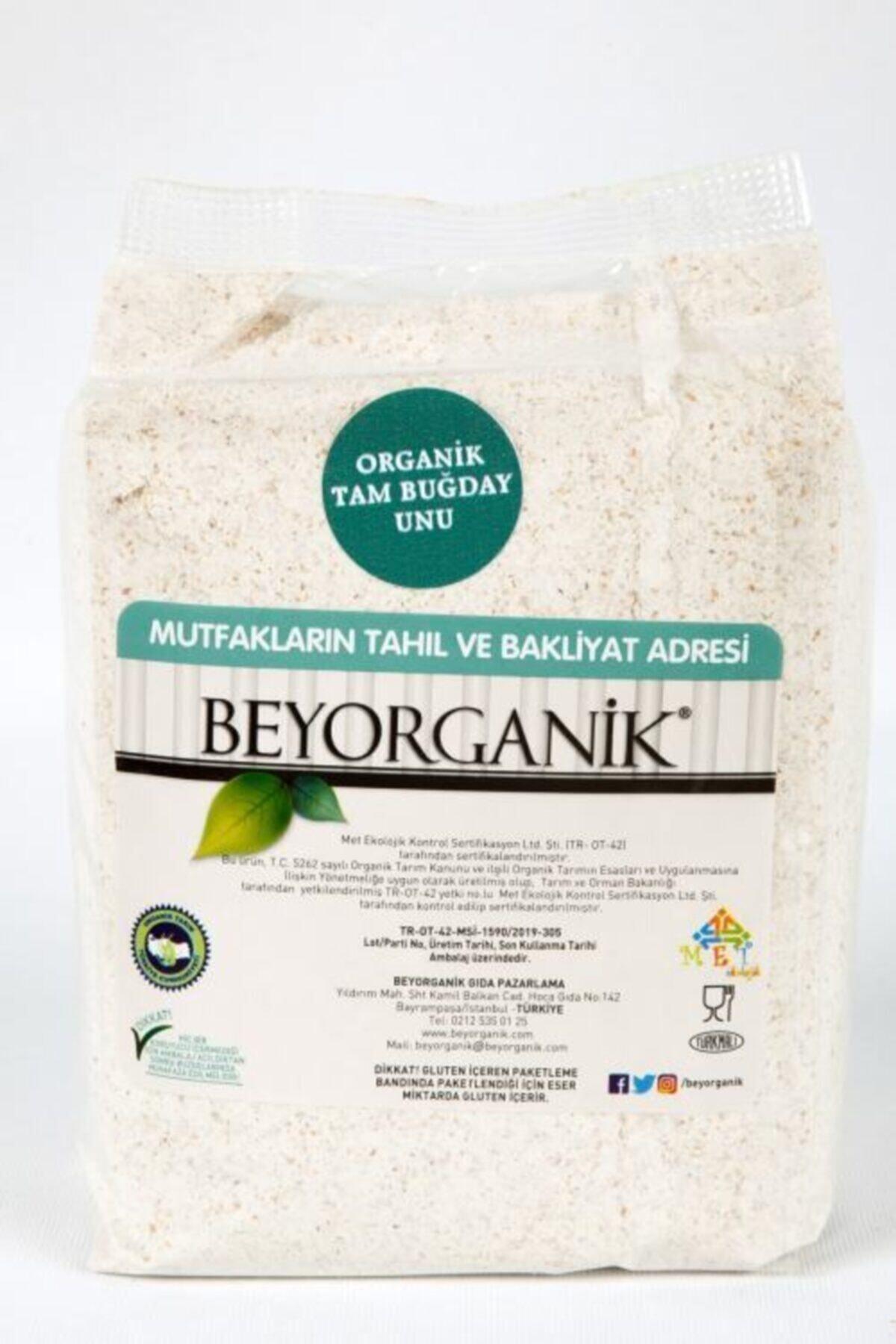 BEYORGANİK Organik Tam Buğday Unu 1 kg 1