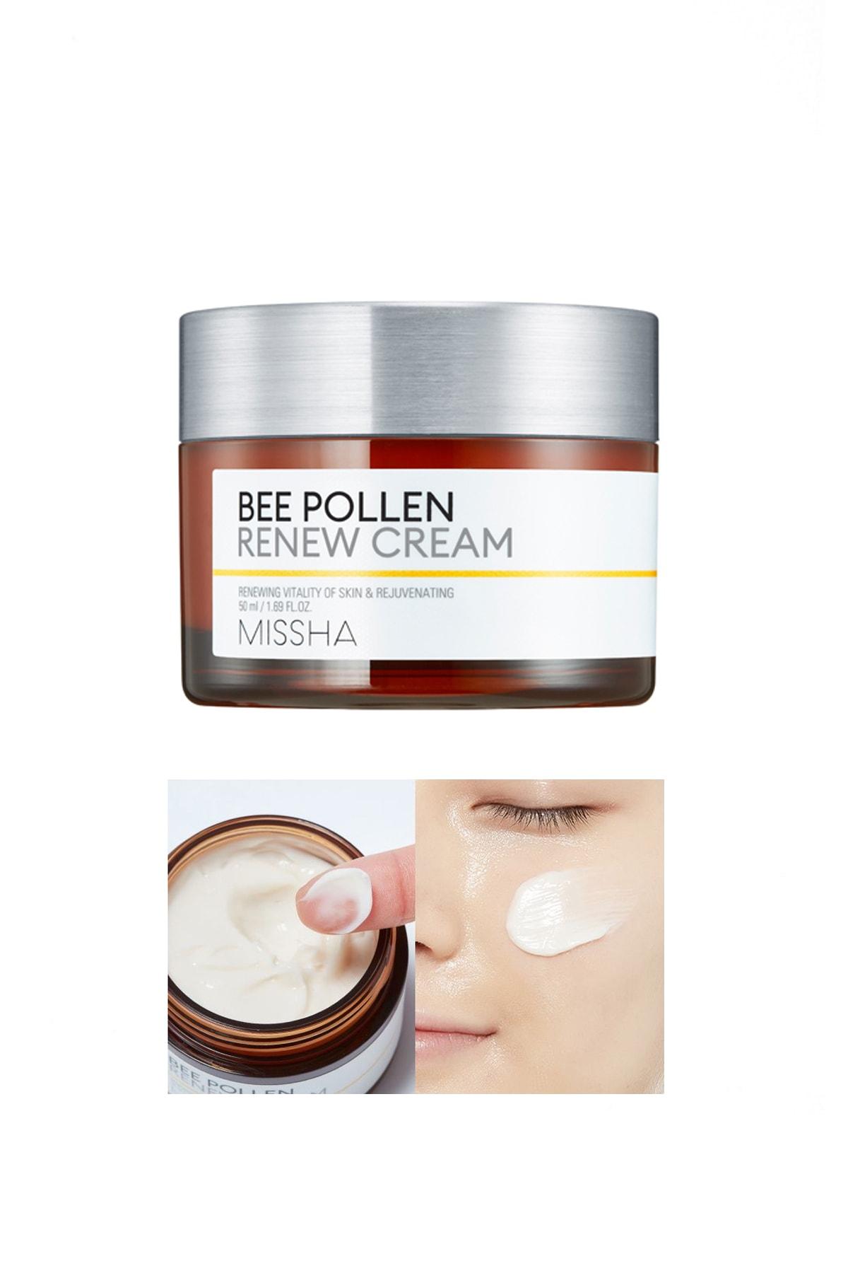 Missha Arı Poleni İçeren Yoğun Besleyici Krem 50ml Bee Pollen Renew Cream