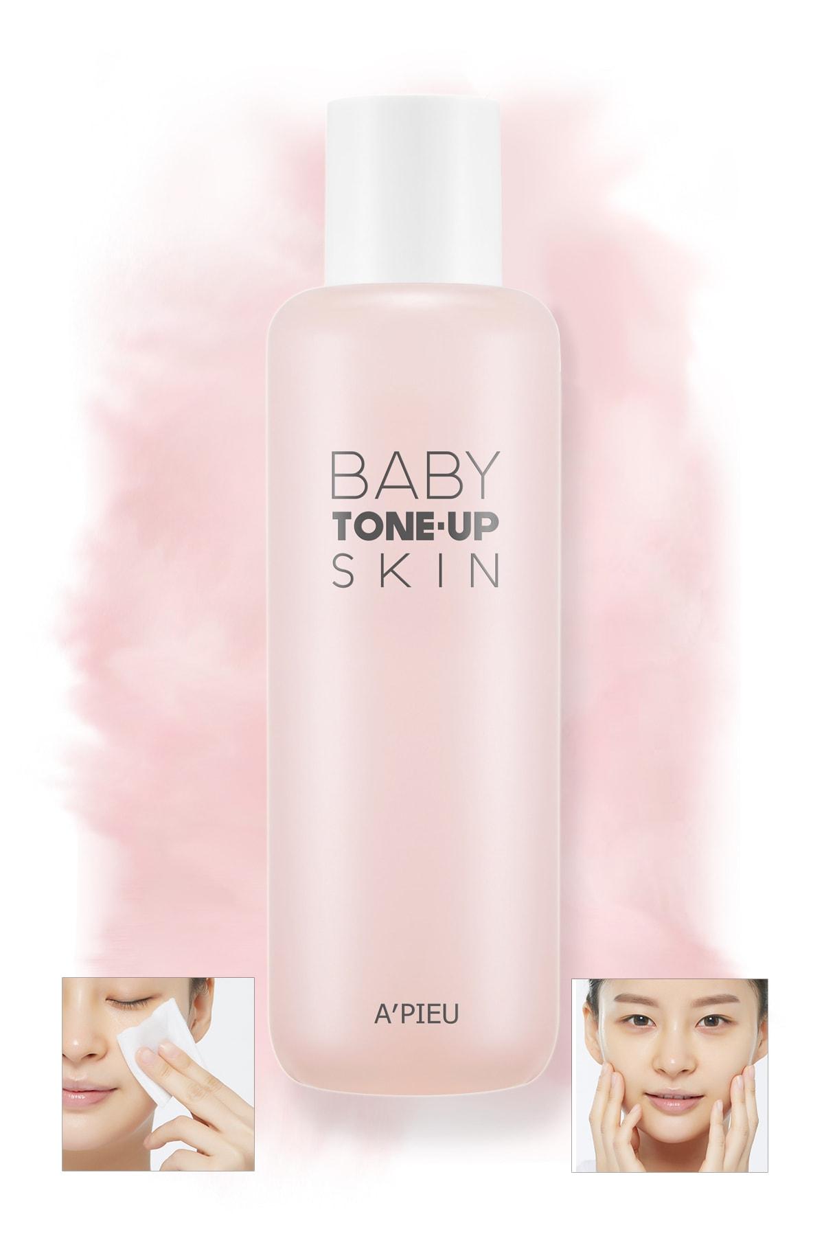 Missha Nemlendirici ve Aydınlatıcı Ton Eşitleyici Tonik 160ml APIEU Baby Tone-up Skin