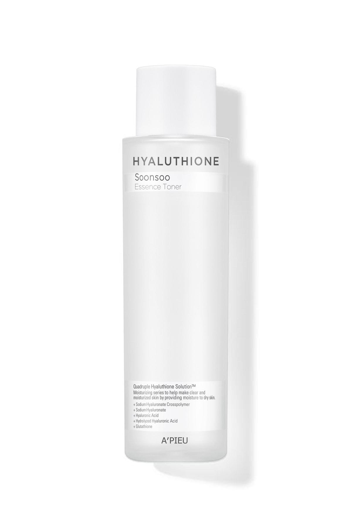 Missha 4 Çeşit Hyalüronik Asit İçeren nemlendirici Tonik 170ml APIEU Hyaluthione Essence Toner