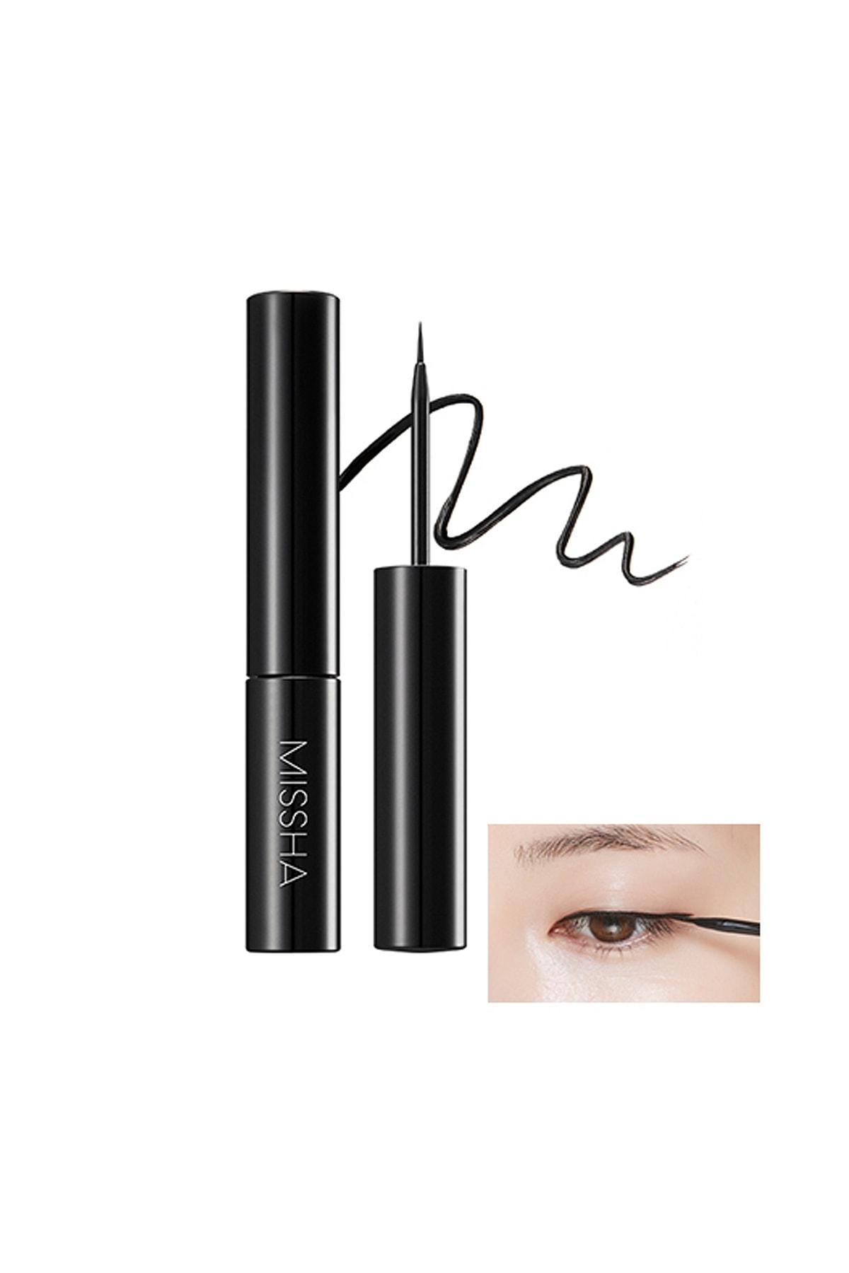 Missha Suya Dayanıklı Likit Eyeliner Liquid Sharp Liner 1