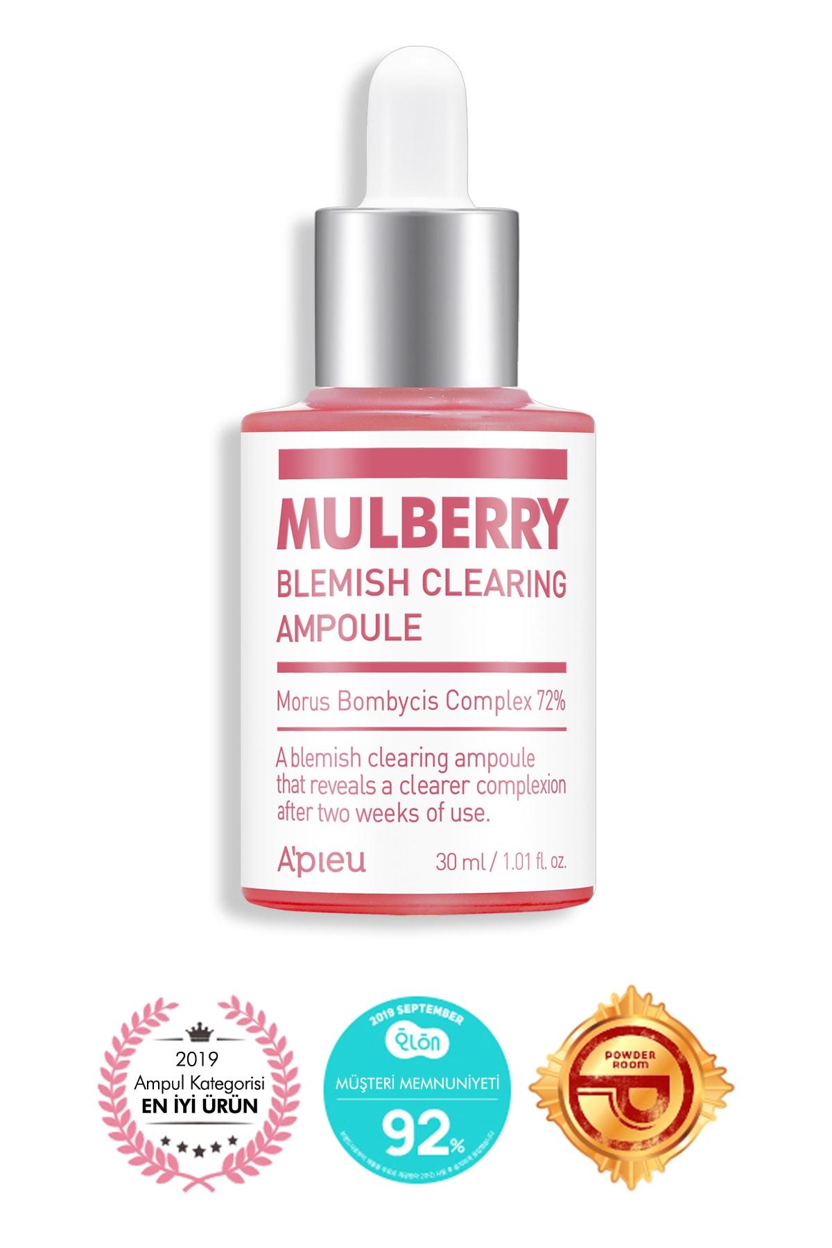 Missha Leke Karşıtı Aydınlatıcı Dut Özlü Ampul 30ml APIEU Mulberry Blemish Clearing Ampoule