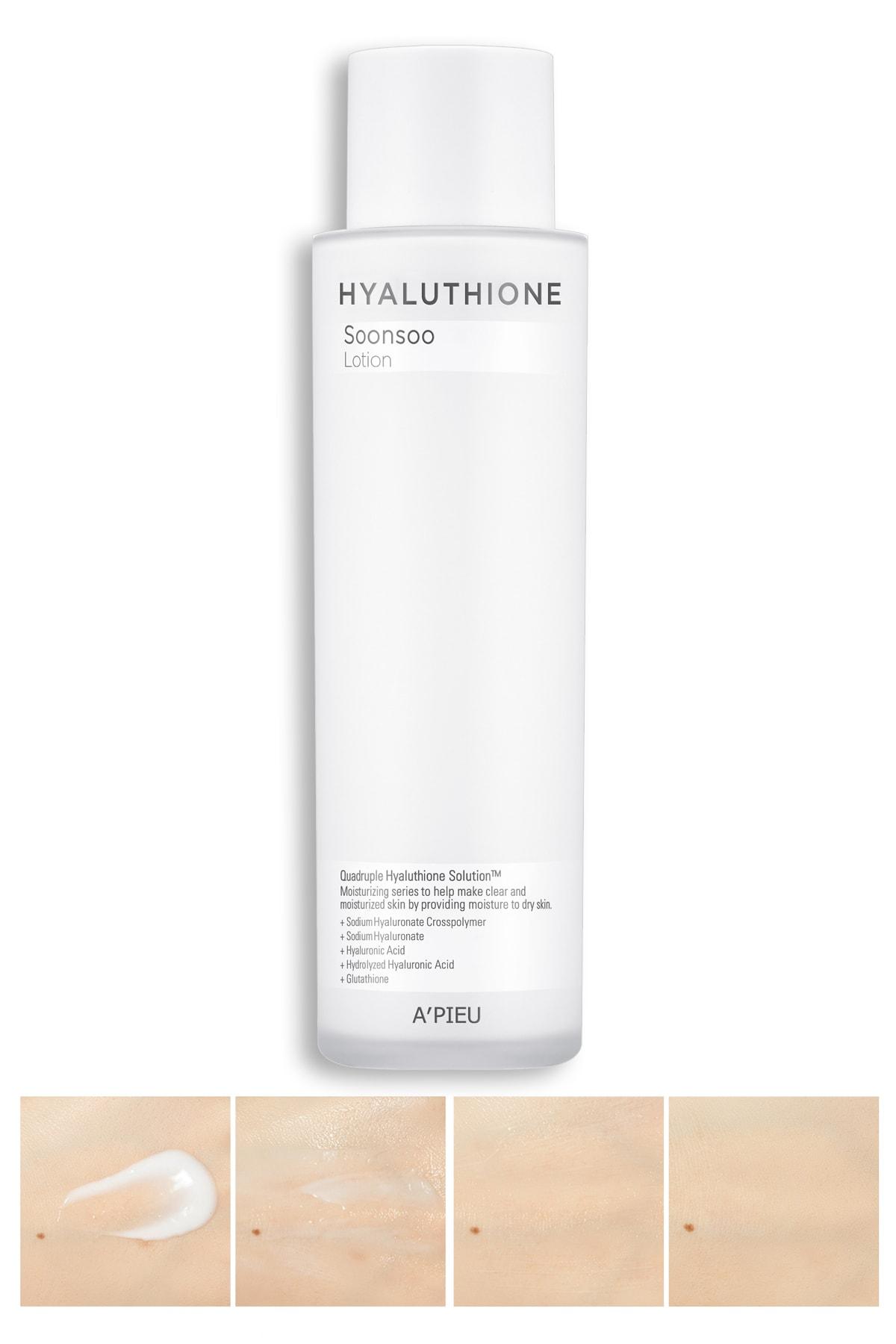 Missha 4 Çeşit Hyalüronik Asit İçeren Nemlendirici 170ml Losyon APIEU Hyaluthione Emulsion (Lotion)