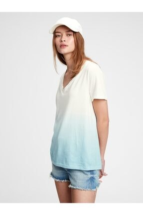 GAP Organik Pamuk Vintage Tie-dye T-shirt