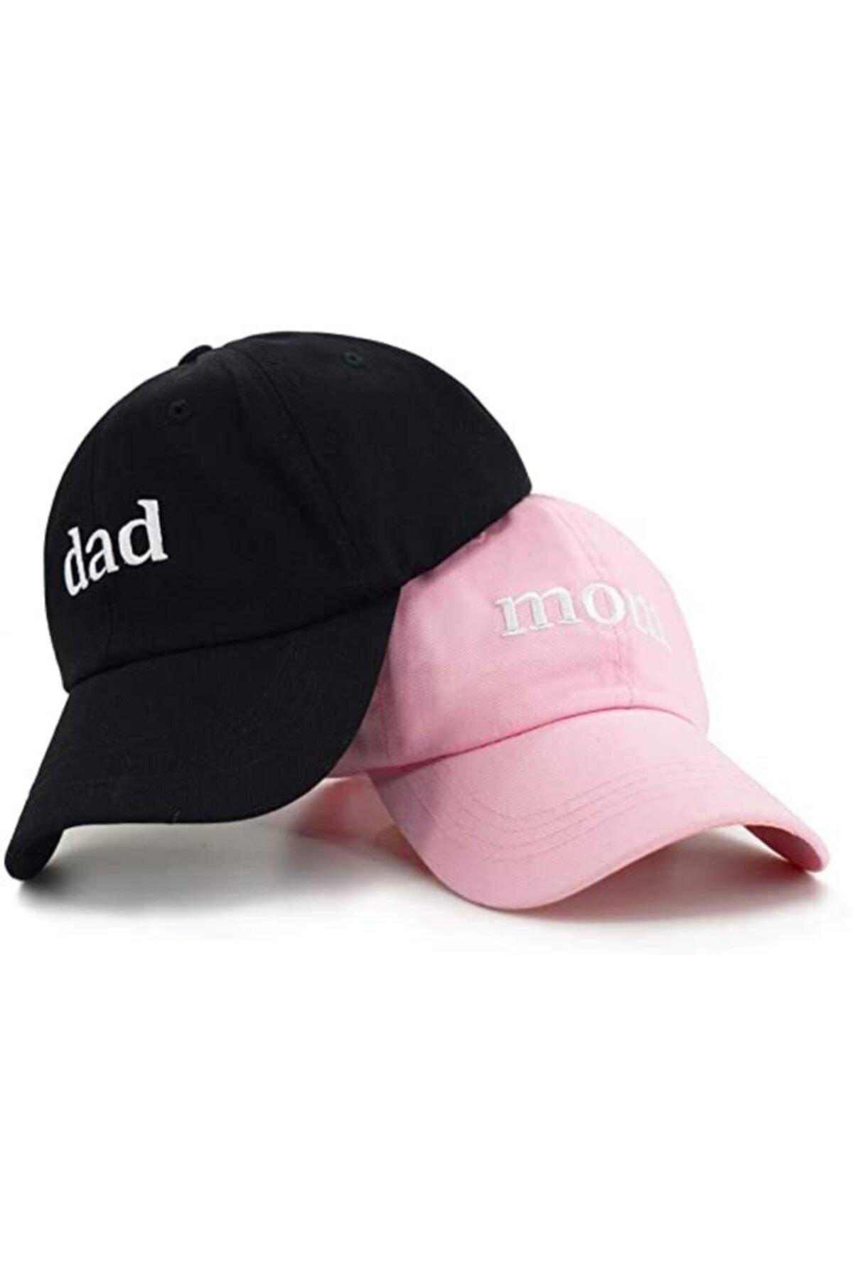 ŞapkaMania Dad & Mom Kep Set 1