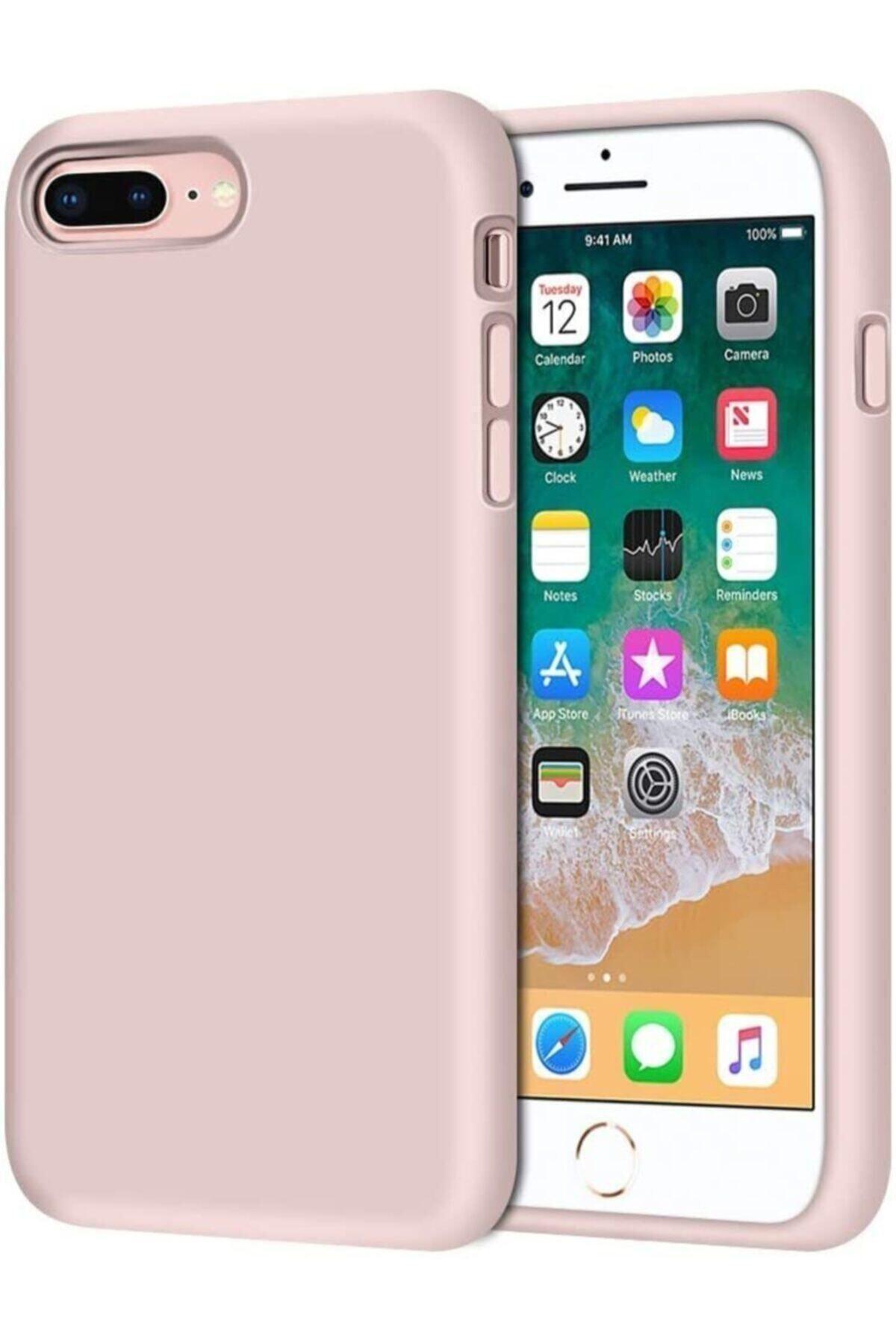 Mopal Iphone 7 Plus / 8 Plus Içi Kadife Lansman Silikon Kılıf 1