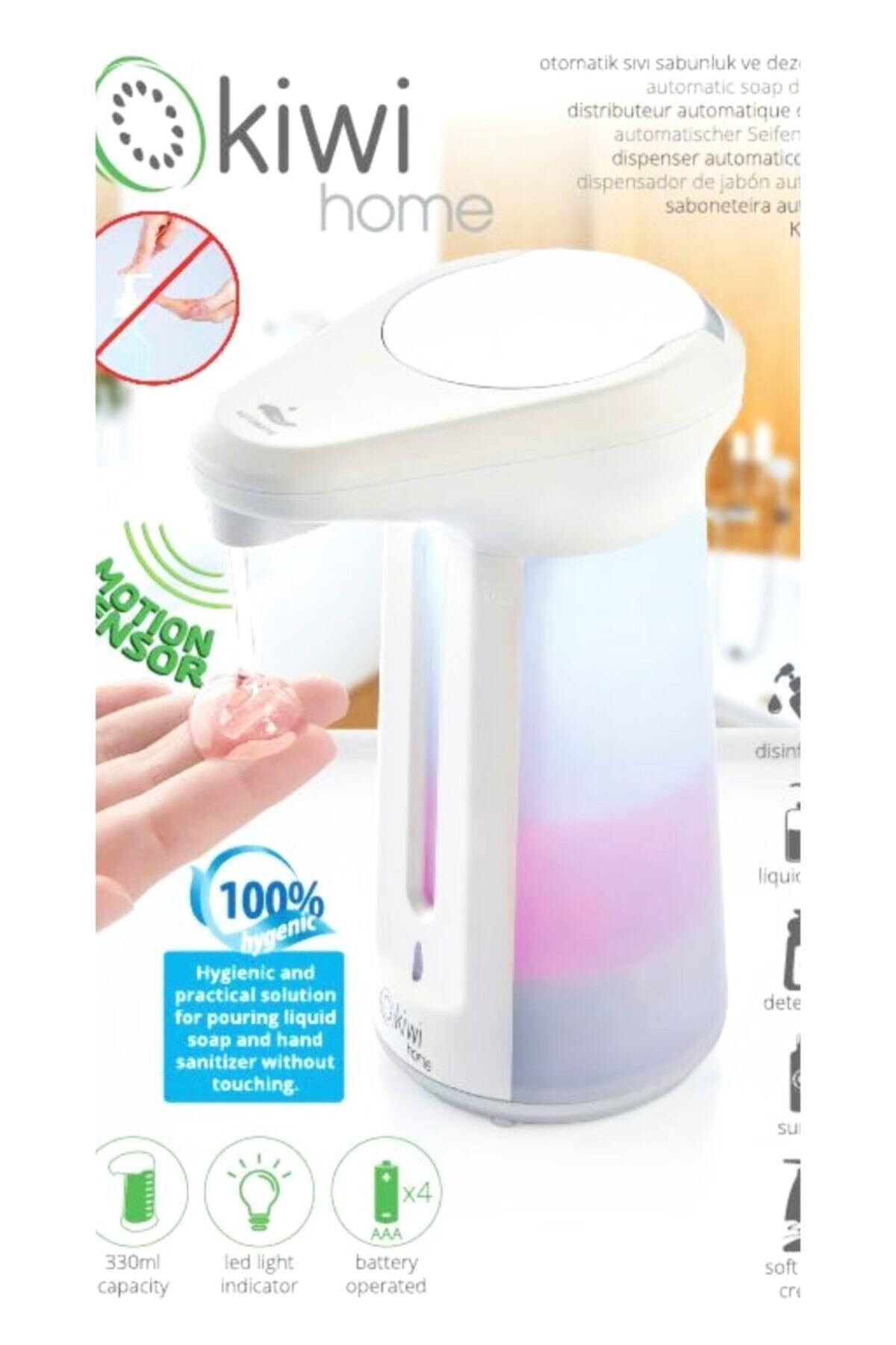 Kiwi Otomatik El Sensörlü Sıvı Sabunluk Ve Dezenfektan 1