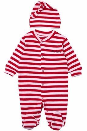 Pierre Cardin Baby Unisex Bebek Şapkalı Tulum 301969