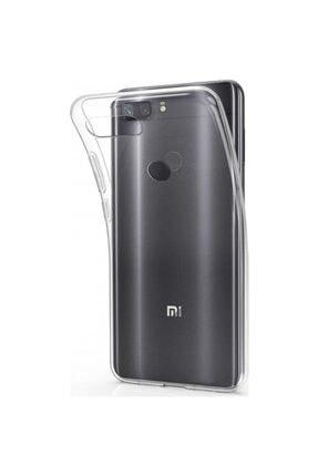 Xiaomi Mi 8 Lite Kılıf Şeffaf Süper Silikon