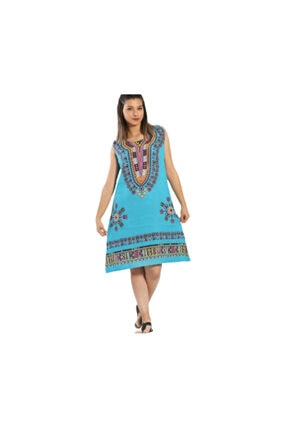 S & S Home and Life Etnik Otantik Yazlık Elbise