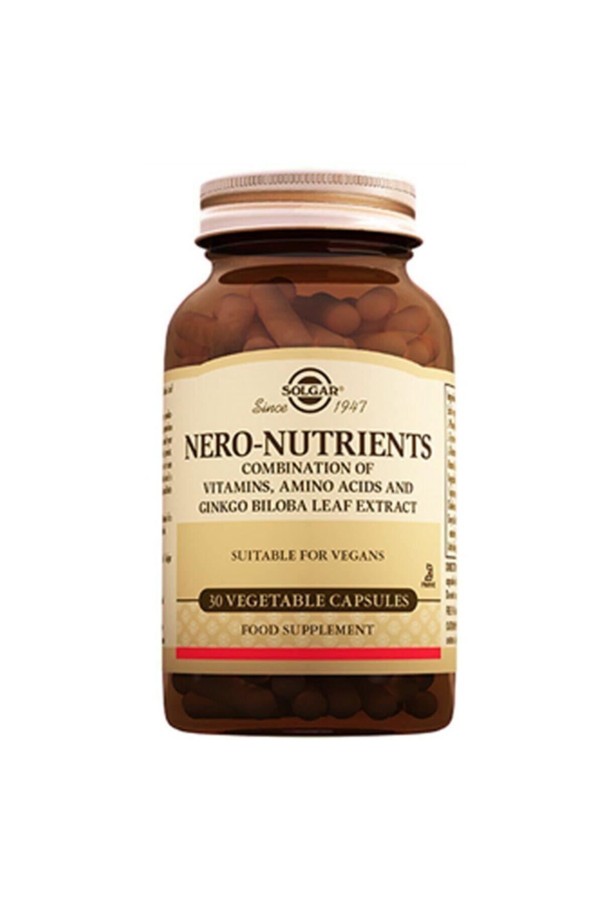 Solgar Nero Nutrients 30 Kapsül 1
