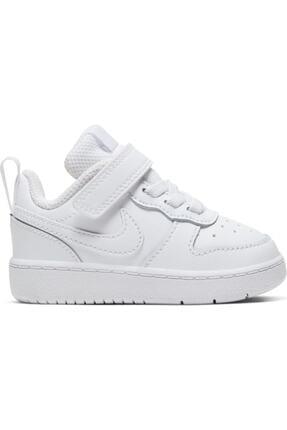 Nike Kids Unisex Bebek Beyaz Bq5453-100 Court Borough Low Spor Ayakkabı