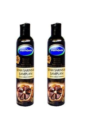 Mecitefendi 2 Adet Siyah Sarımsak Şampuanı 2x250 ml
