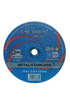 CMC Tools Metal Kesici Taş Spiral Taşı 115x3.0x22mm 1 Adet