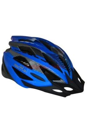 Rectus R-9 Bisiklet Kaskı Yetişkin Vizörlü Karma Desen