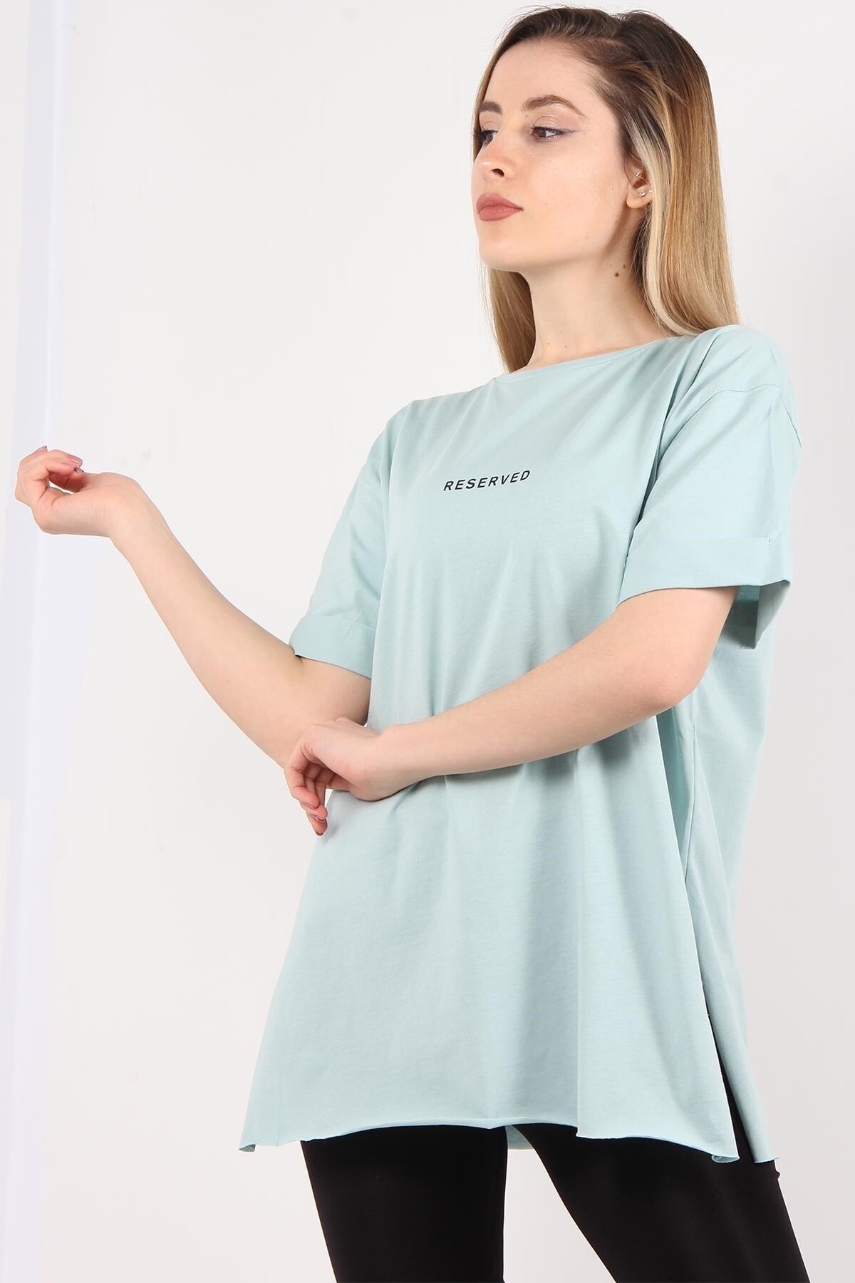 Mckanzie 1068 Reserved Baskılı T-shirt 1