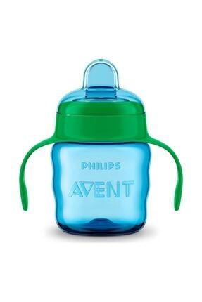 Philips Avent Erkek Bebek Mavi Avent Eğitici Bardak 200 ml 6m