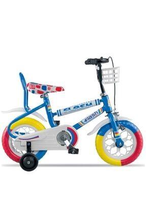 Tunca Flash Junior Sepetli 12 Jant Çocuk Bisikleti 2-4 Yaş Arası Mavi