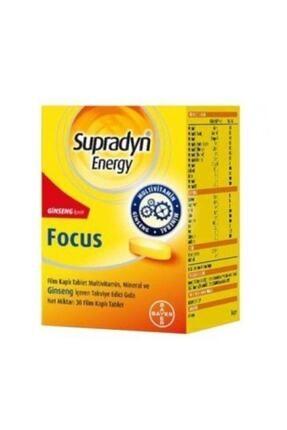 Supradyn Energy Focus 30 Tablet 8699546090419