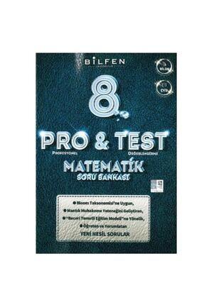 Bilfen Yayıncılık 8.sınıf Lgs Pro Test Matematik Yeni Nesil Soru Bankası