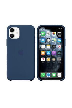 Nezih Case Iphone 11 Silikon Kılıf Cobalt Mavi